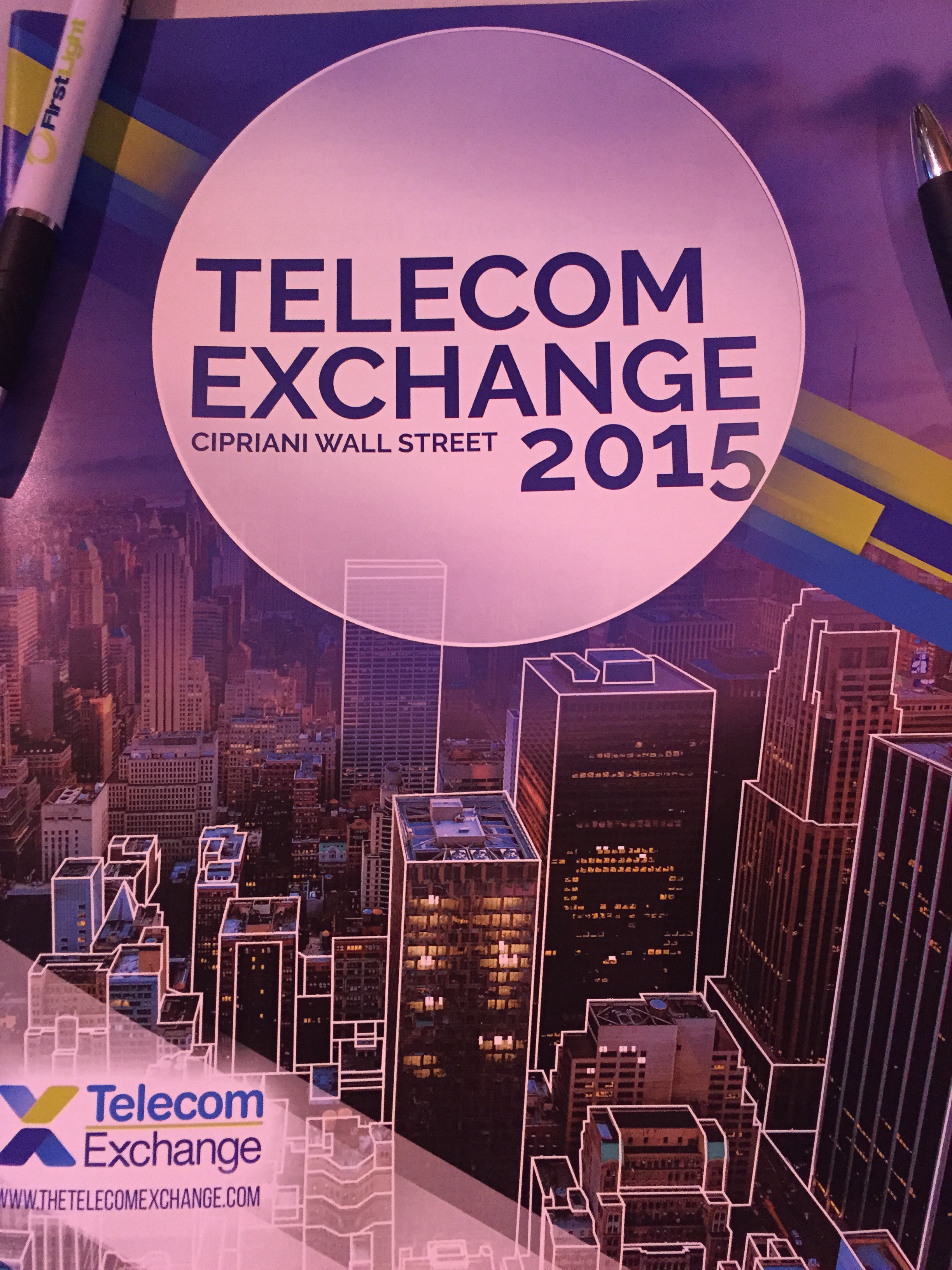 Back to New York for Telecom Exchange 2015