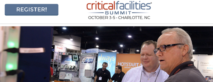 Fourth Annual Critical Facilities Summit Opens Registration