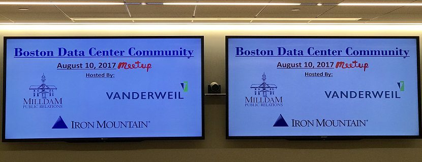 Recap: August MeetUp of the Boston Data Center Community (BDCC) Features Speakers from 451 Research, Iron Mountain and New England Fiber